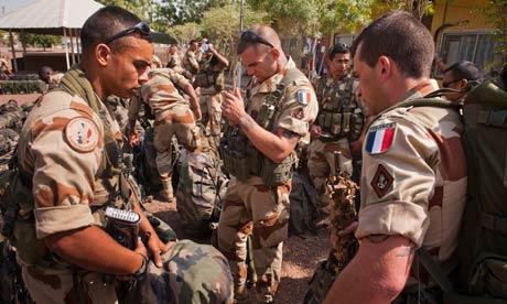 France on alert for backlash as air assault on Mali rebels kills 100