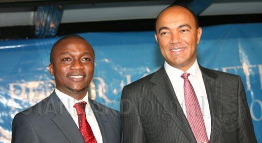 33-year-old Ronni Osumba is Peter Kenneth's running mate