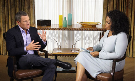 Lance Armstrong admits doping in Oprah Winfrey interview