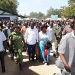 A super reception for Raila in Machakos