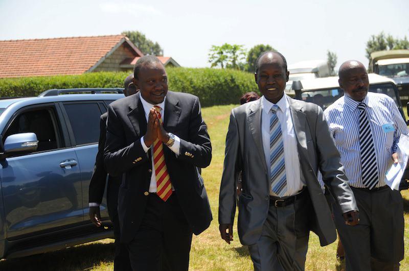 Uhuru Kenyatta gets a cold reception in Meru