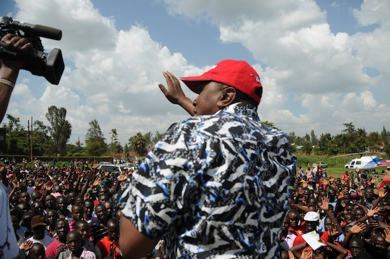 Jubilee's Uhuru Kenyatta gets a poor reception in Kuria