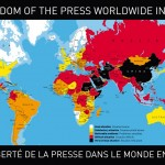 Press freedom World map