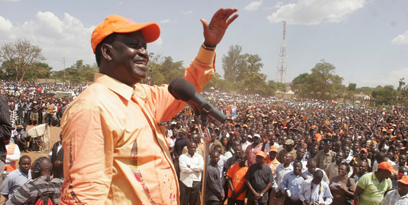 Raila Odinga's CORD Poised To Win 7 Provinces, Uhuru's Jubilee 1