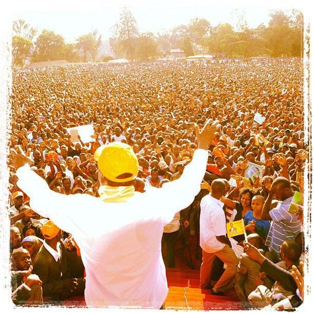 Migori County Welcomes Raila Odinga's CORD In Style