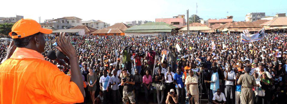 Odinga's Rally In Malindi Confirms The Mijikenda Nation Is In CORD