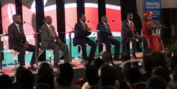 Video: Kalonzo Shines In The Low Key Deputy Presidential Debate