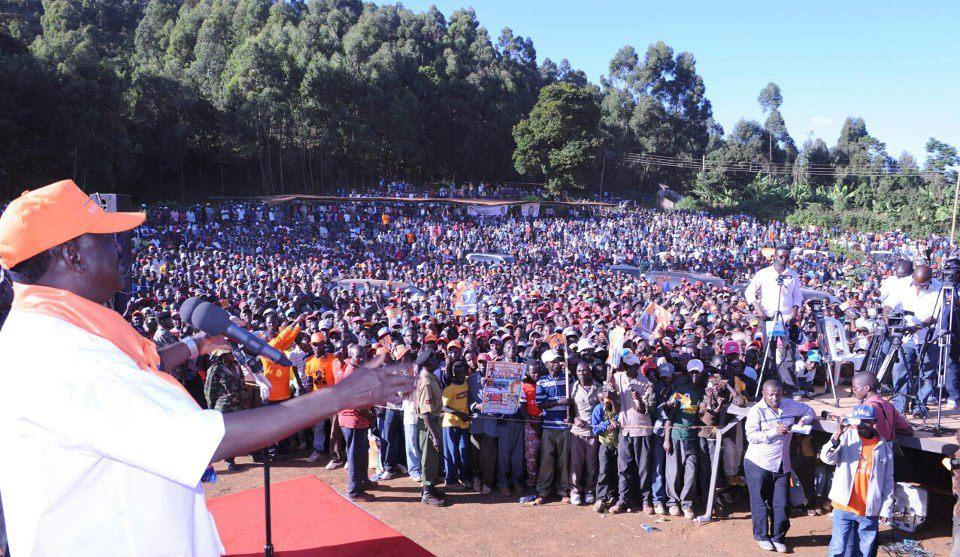 Raila Odinga's CORD Succesfully Penetrates Meru Region