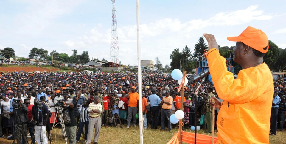 All Is Not Lost For Raila Odinga's CORD Campaign In Rift Valley