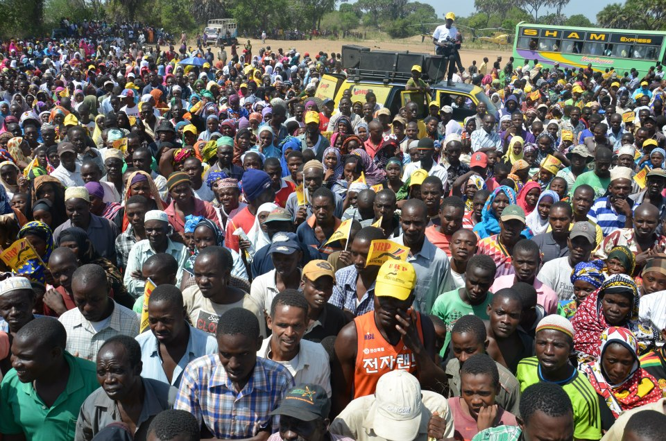 Land Issue Cause Of Diminshed Crowd For Uhuru In Kwale County Rallies