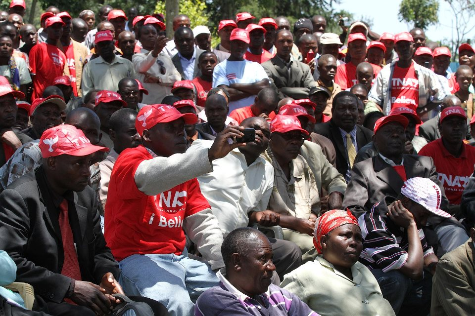 Jubilee Disapointed In Nyamira, Diminished Crowds Again!