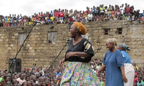 Kenya peace film hits screens as tensions rise ahead of election