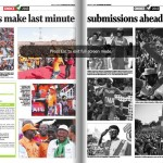 The Willing Buyer Made Sure Jubilee's Uhuru Park Rally Photos By The Std Are In Black And White To Fool URP Masses.