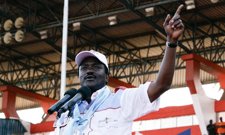 Kenyan candidate says election 'lacks integrity', raising fears of protests