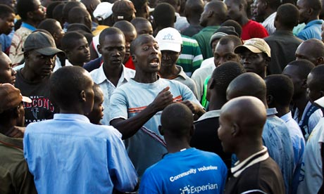 Kenyan Election Results 'Doctored', Say Raila Odinga Supporters