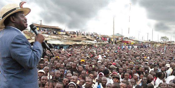 Raila Odinga´s 1st Public Event Since The Bungled General Election