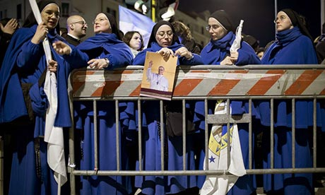 Pope Francis Inauguration: Crowds Gather At St Peter's Square