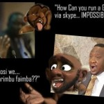 Facebook  Got Jokes: The Online War In Kenya Goes Comic