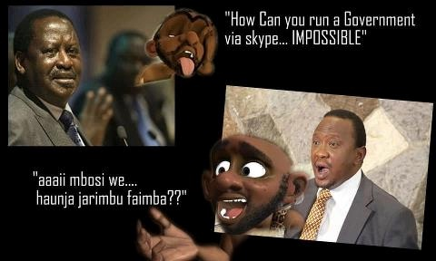 Facebook  Got Jokes: The Online War In Kenya Goes Comic