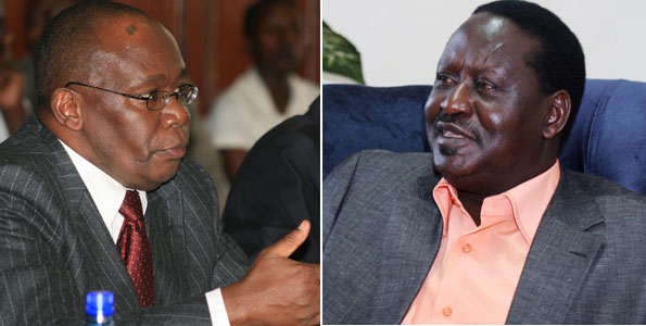 Raila Odinga and AG Prof Githu Muigai Gang Up Against Kibaki -Kimemia's Directive