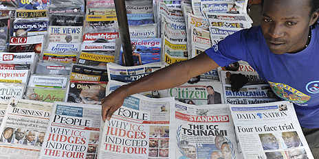 The Self Poisoning Kenyan Media  Abandons The Public For Three Pieces Of Silver