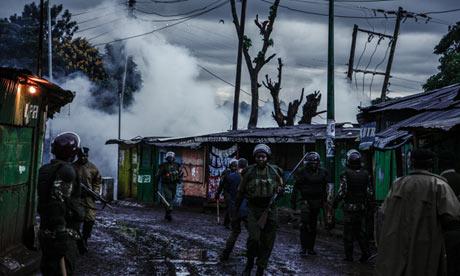 Kenya Deploys Police After Riot Deaths