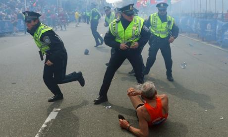 Boston Marathon: Explosions Kill Two  And Injures 23