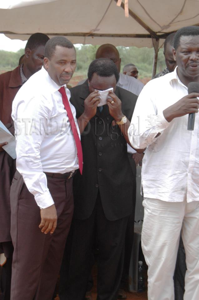 Kalonzo Musyoka Wept, Kenyans Wept- RIP Mutula