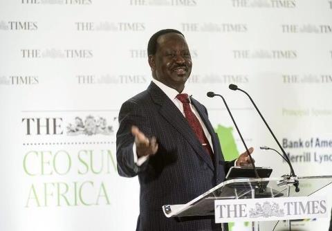 Going Global: Prime Minister Raila Odinga Delivers Keynote Speech At The CEO Summit In London