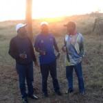 Exclusive photo of PM Odinga, Moses Wetangula And Kalonzo Musyoka In South Africa