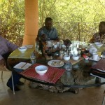 Exclusive Pictures: Raila Odinga,Kalonzo and Wetangula live via Skype From South Africa