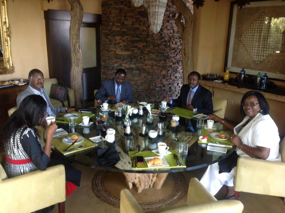 Raila Odinga, Kalonzo and Wetangula To Arrive Back From South Africa Today