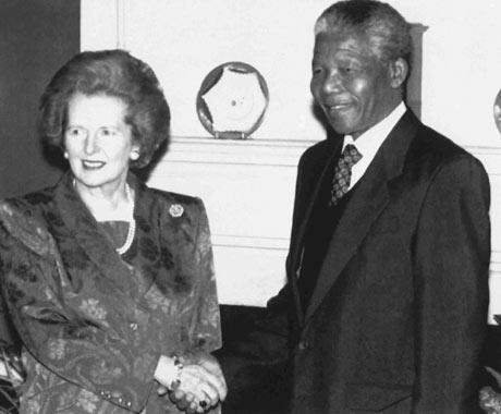 How Margaret Thatcher helped end apartheid – despite herself