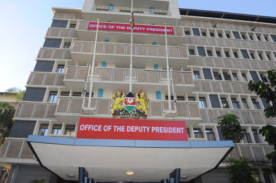 Raila Former Office Rebranded As Ruto Moves In