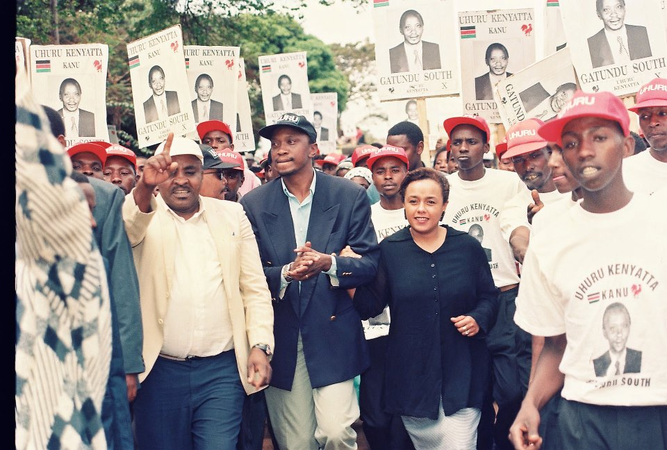 Going Back Into Time- 1997: Uhuru Kenyatta On the Campaign Trail For MP Gatundu South
