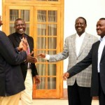 Raila Ready To Move On As He Holds Talks With Uhuru Kenyatta At State House