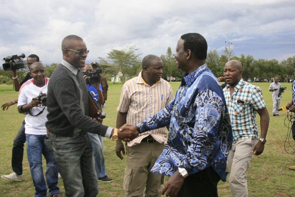 The People's President Raila Odinga Arrives At The Great Rift Valley Lodge For CORD Leaders Meeting