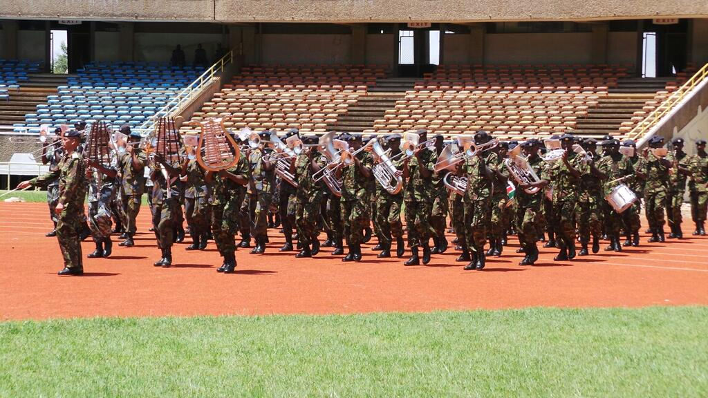 Preparations For The Swearing In Of Uhuru Kenyatta As President Underway