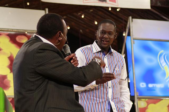 Trending Video: Uhuru Kenyatta On Churchill Live