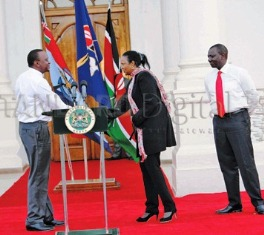 Governor Kidero Executive Committee Puts To Shame Uhuru Kenyatta's Regionally Skewed Cabinet