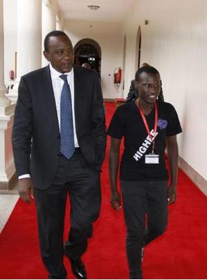 Otonglo Time: President's Olive Hand To Poor Boy Laudable, How About Teammates?