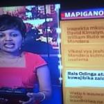 "KTN ""Correctly"" Refers To Raila Odinga As Rais Odinga, Blame It On A Typo!"