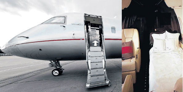 Ruto's Luxury Jet: Forget Promises Uhuru Made, It Will Be Survival For The Fittest!