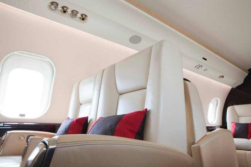 Exclusive Pictures: Inside The Hustler's 100 Million Jet