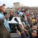 TNA Onslaught on CORD's Kethi Kilonzo Leaves President Uhuru With A rotten Egg In The Face