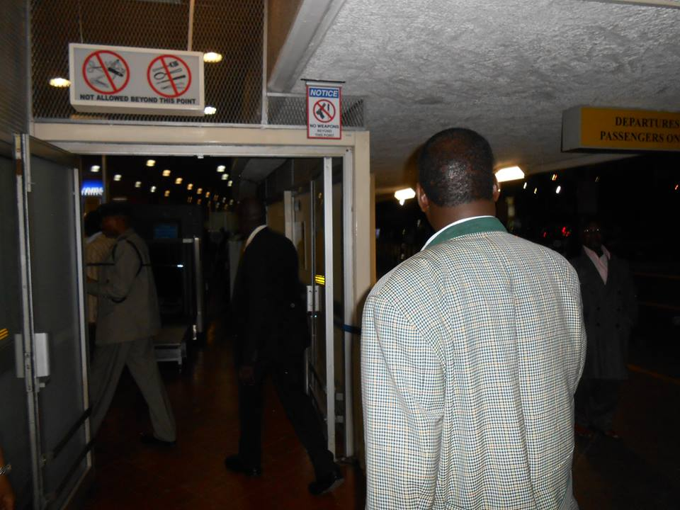 LIVE Pictures from JKIA: Raila Odinga Denied Access To VIP AGAIN, Opts For Public Entrance!
