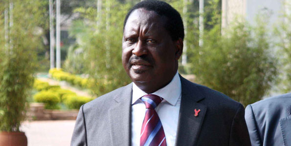 SHOCK: Raila Made to Remove Shoes, Belt At JKIA On Trip To South Africa