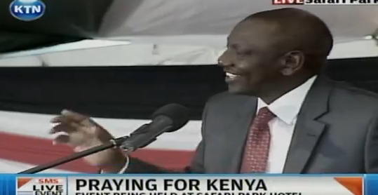 """Humour: Meet H.E William Ruto The """"Crying"""" Story Teller"""