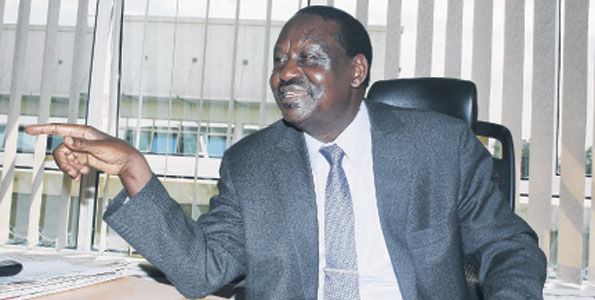 Airport VIP Drama: The Plan Is To Brand Raila A Terrorist