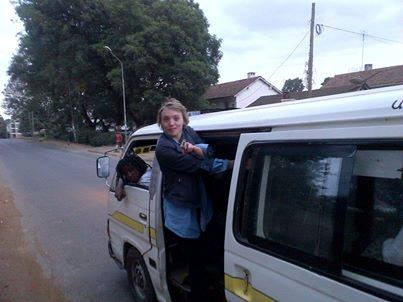 How About A White Female Tout In Nairobi's Route 46!